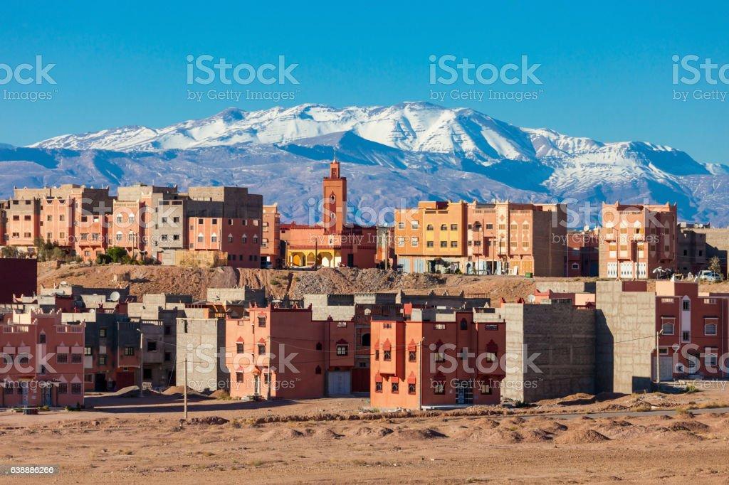 Ouarzazate city, Morocco stock photo
