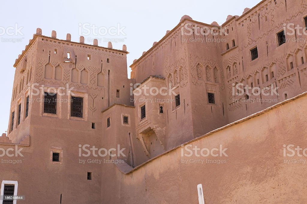 Ouarzazate, Maroc stock photo