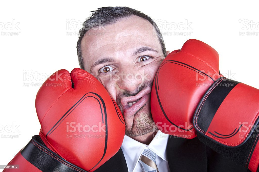 Ouch! royalty-free stock photo