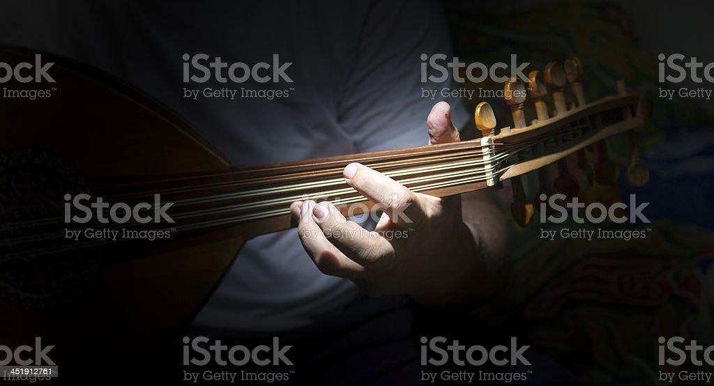 Un joueur d'Oud - Photo