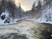 istock Oulanka national park waterfront 1293875411