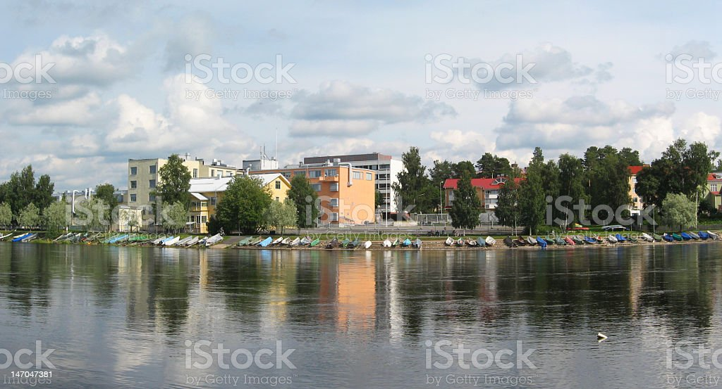 Oulu royalty-free stock photo