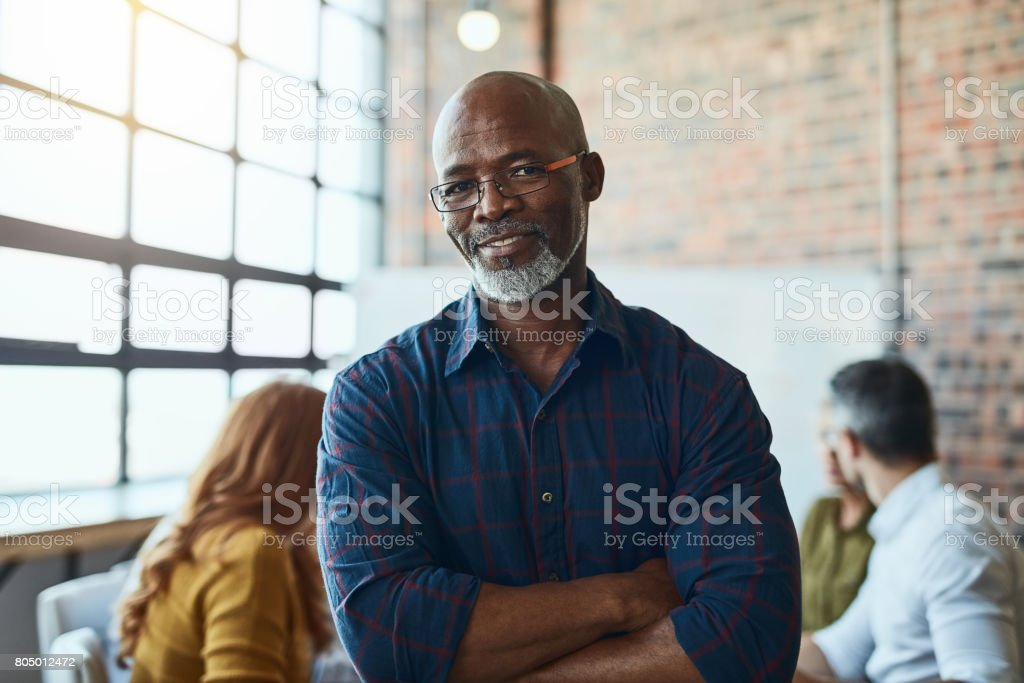 Our business has no flaws stock photo
