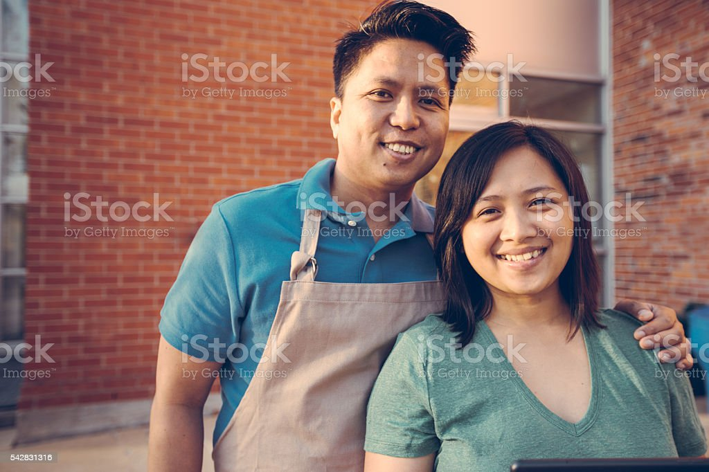 Our business is growing stock photo