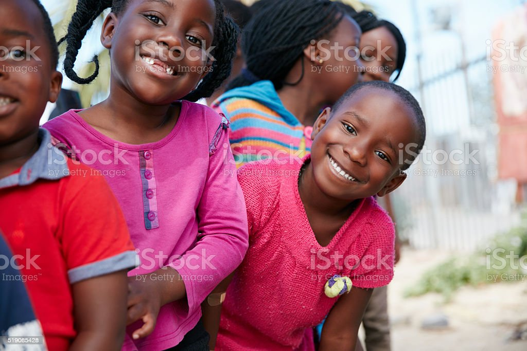 Our children, our future stock photo