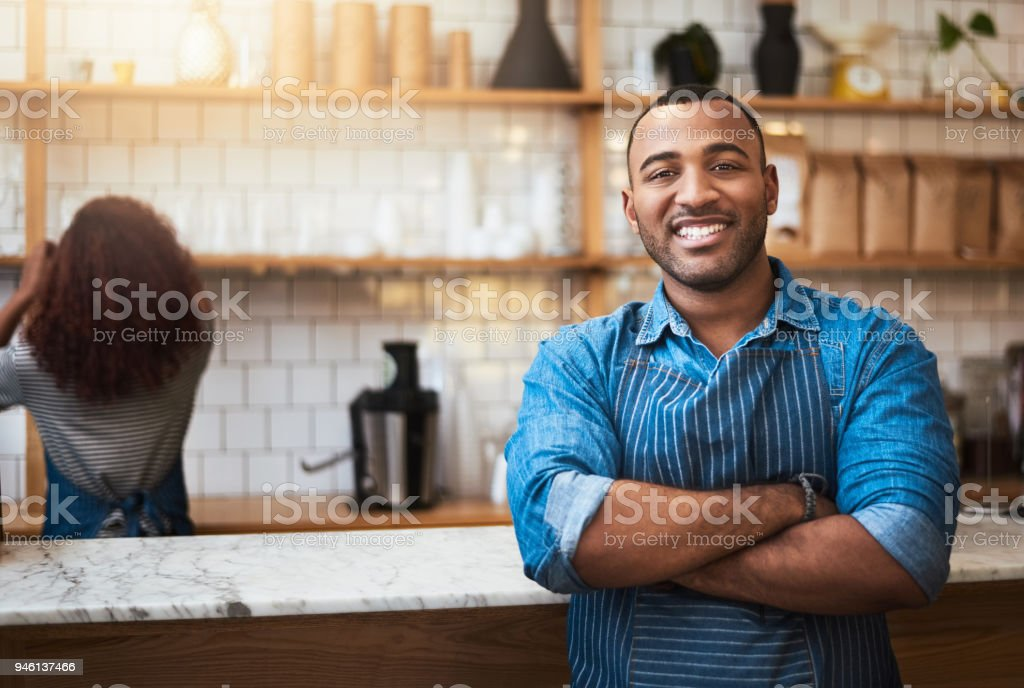 Our coffee is simply the best stock photo