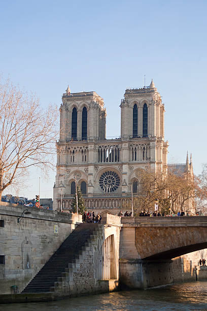 Notre Damme stock photo
