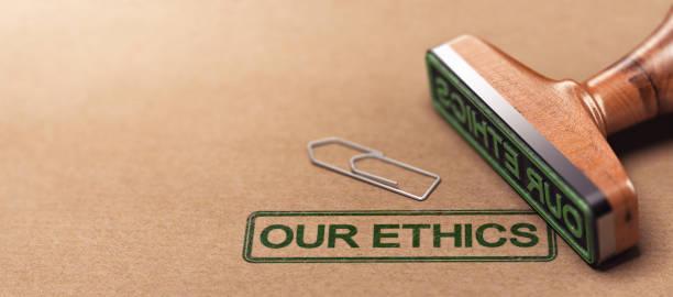 우리의 윤리, 비즈니스 도덕적 원칙 - 도덕성 뉴스 사진 이미지