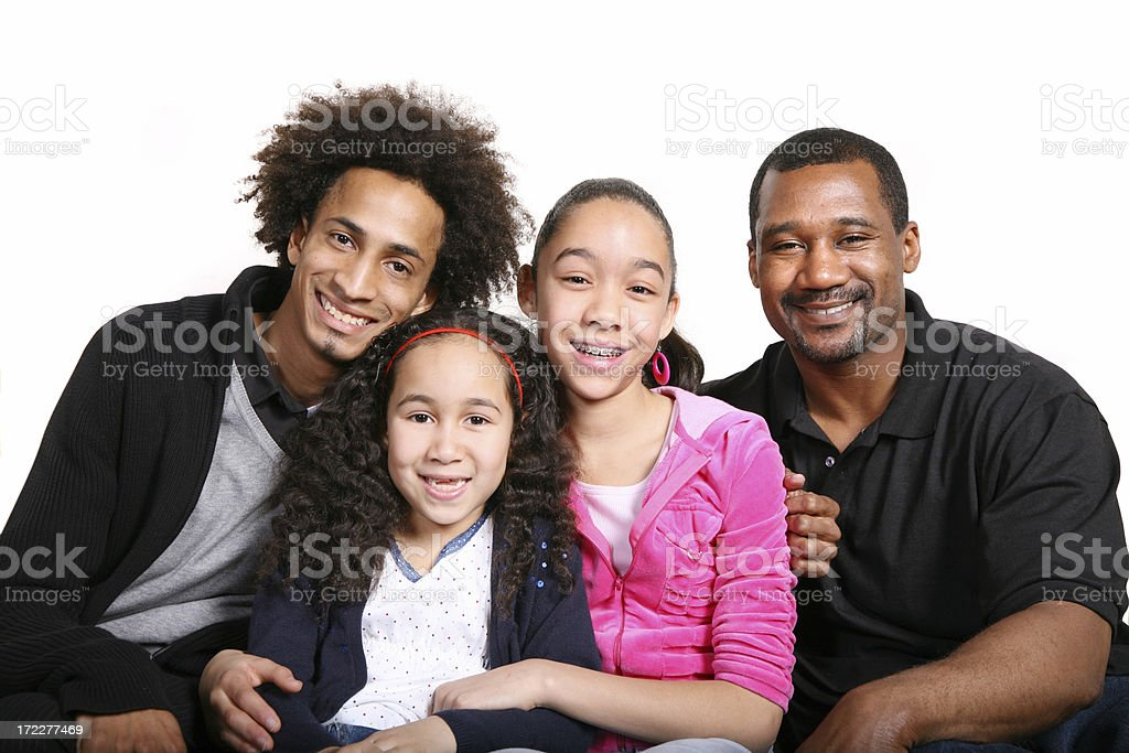 Our family royalty-free stock photo