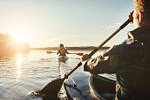 istock Our favourite lake to kayak on 907650018