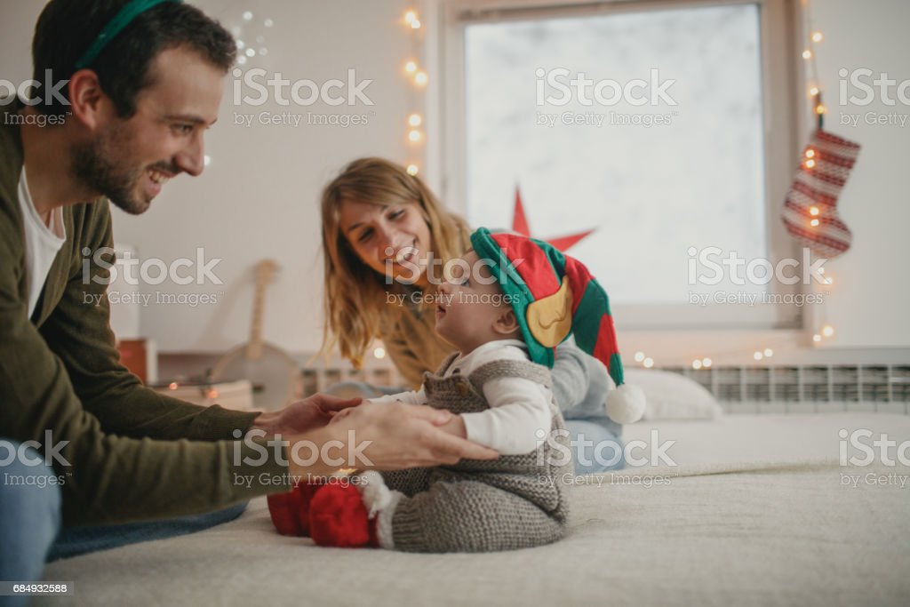 Our first Christmas stock photo