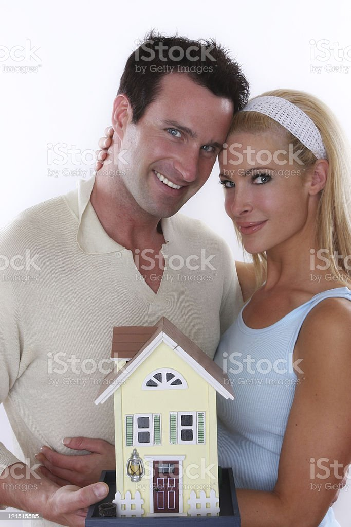 our first house royalty-free stock photo