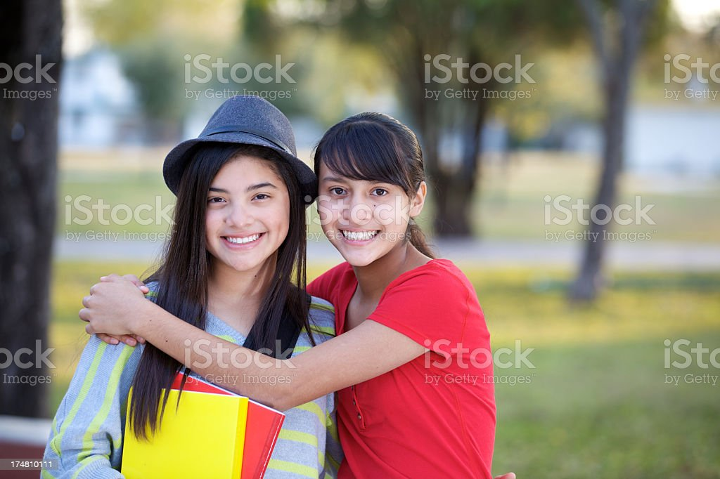 Our friendship royalty-free stock photo