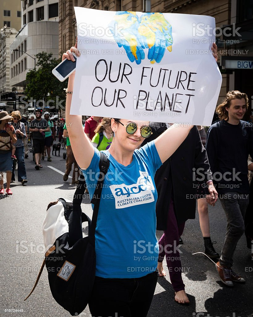 Our Future, Our Planet stock photo