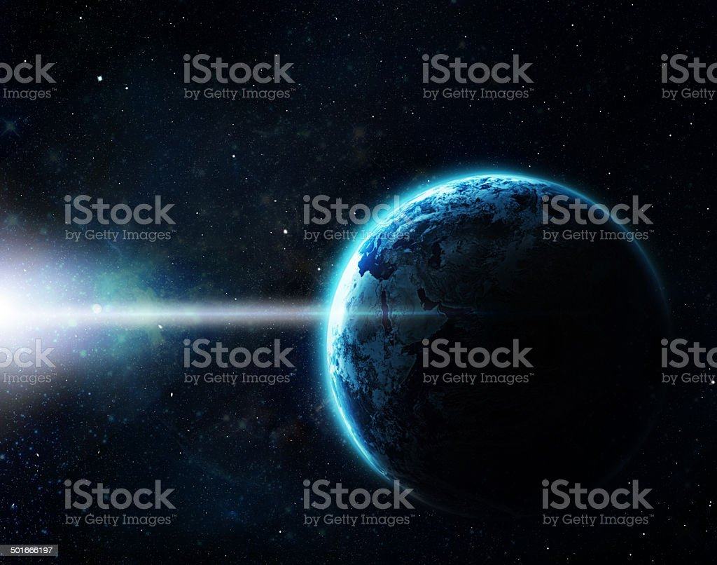 Our galaxy goes beyond the limitation of beauty royalty-free stock photo