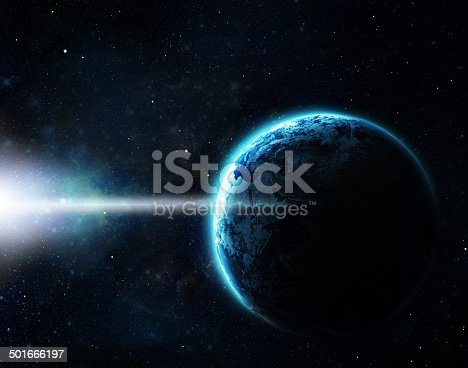 istock Our galaxy goes beyond the limitation of beauty 501666197