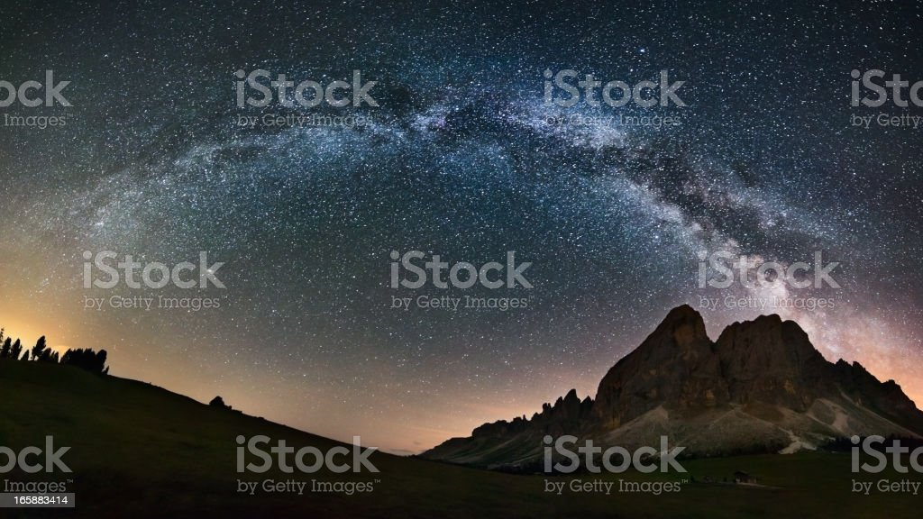 Our Galaxy - The Milky Way stock photo