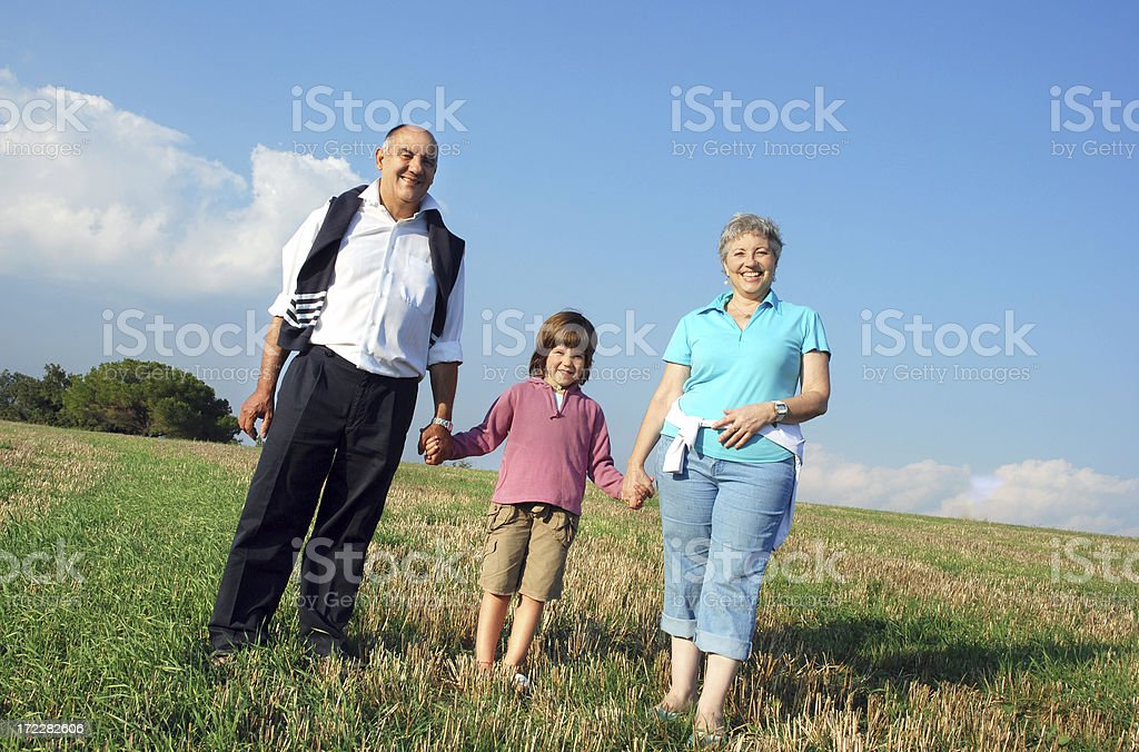 Our  grandaughter royalty-free stock photo