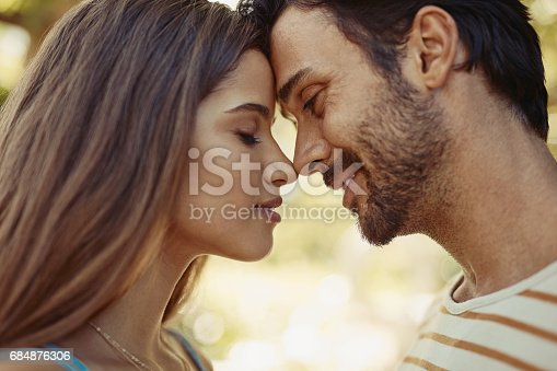 istock Our happily ever after has already started 684876306