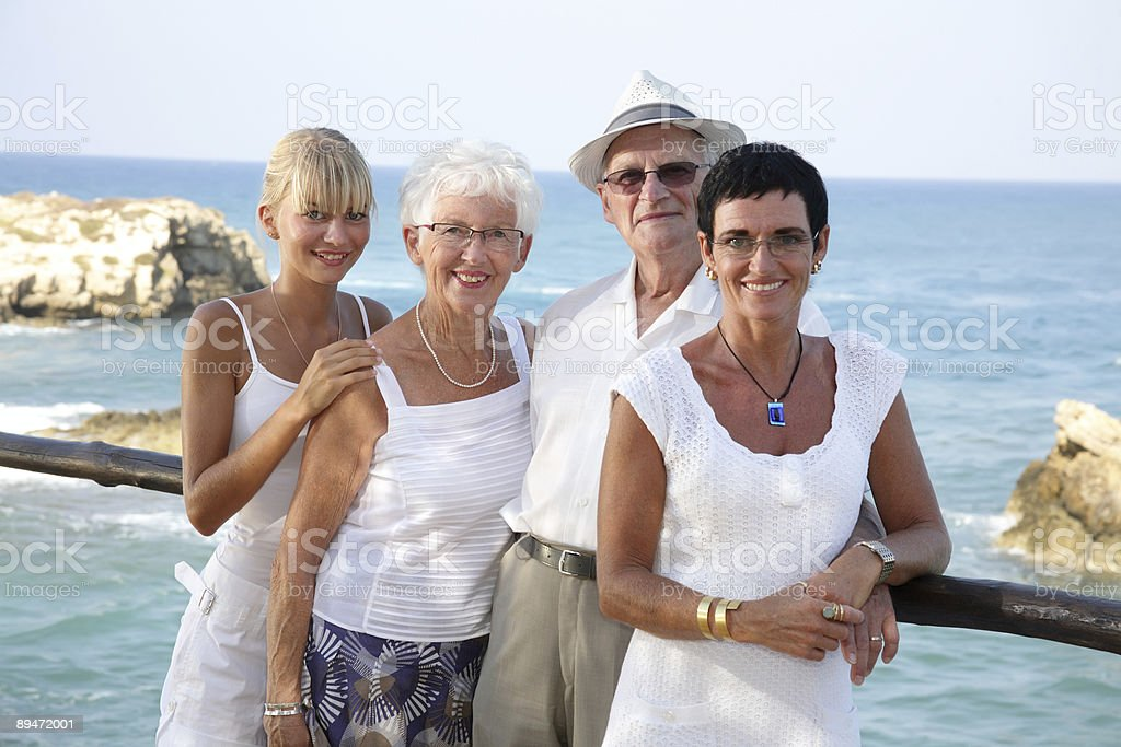 our happy family royalty-free stock photo