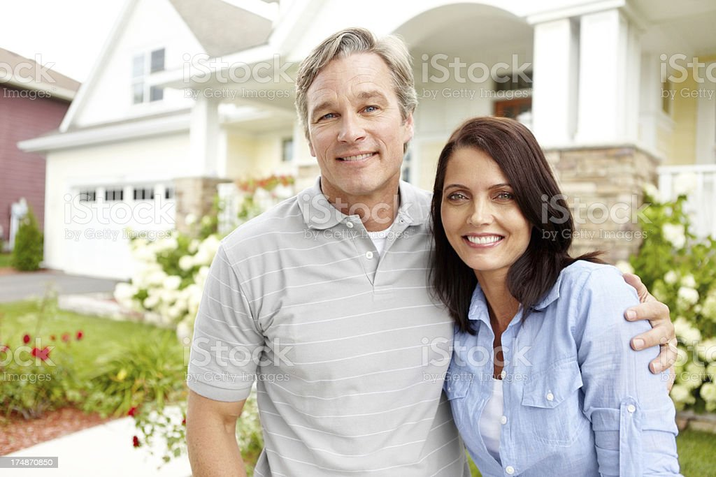 Our home is a place of love, caring and understanding royalty-free stock photo