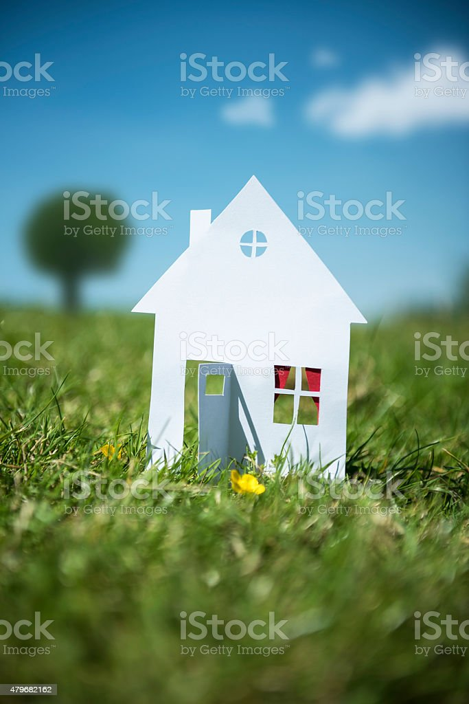 Our House stock photo