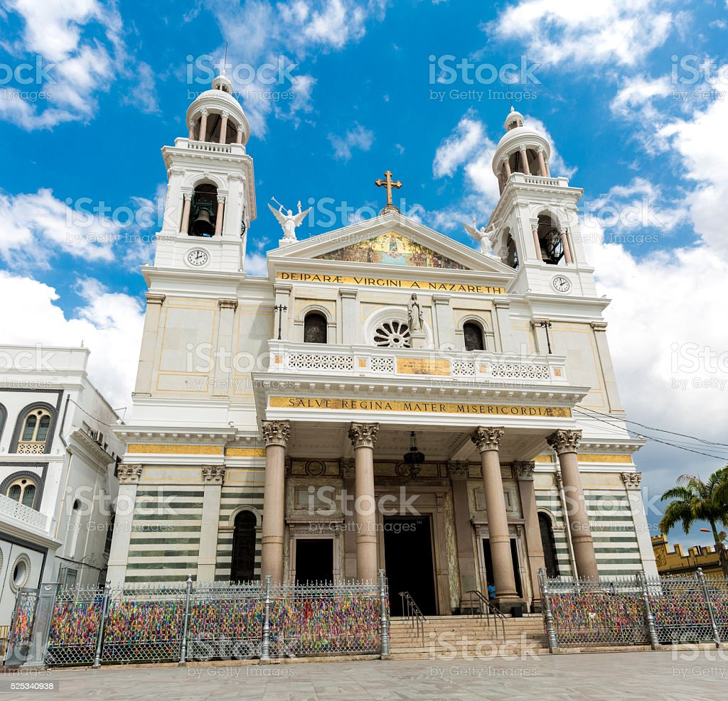 Nossa Senhora Nazare Cathedral in Belem do Para, Brazil stock photo