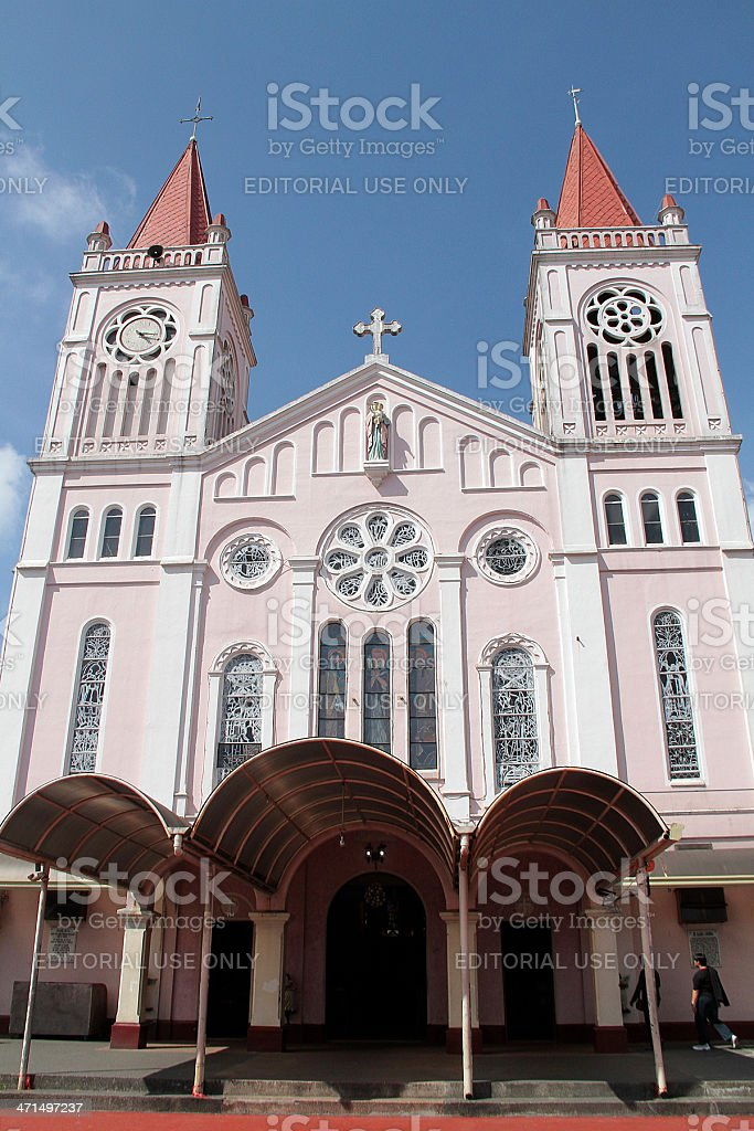 Our Lady of Atonement Cathedral, The Philippines royalty-free stock photo