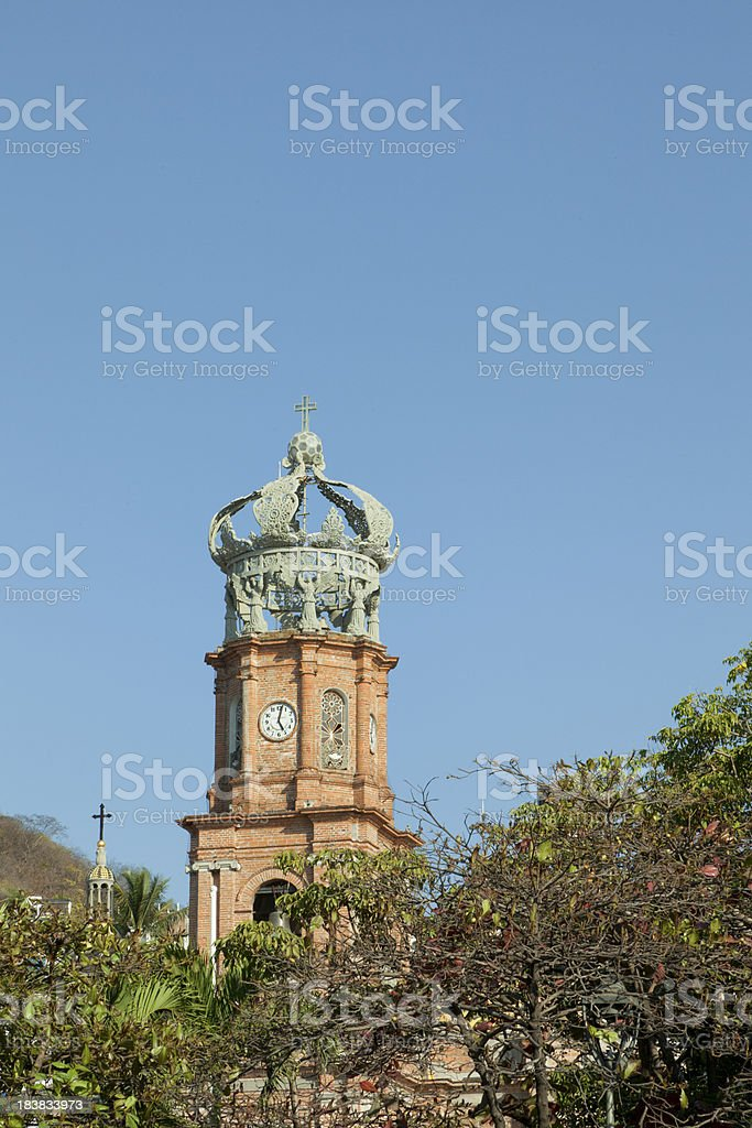 Our Lady of Guadalupe, Church, Puerto Vallarta, Mexico royalty-free stock photo