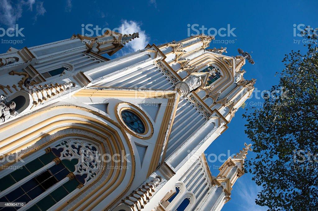 Nossa Senhora de Lourdes Church in Brazil stock photo