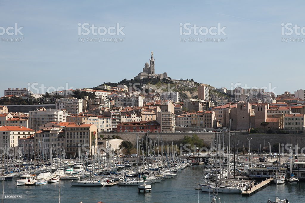 Notre-Dame de la Garde royalty-free stock photo