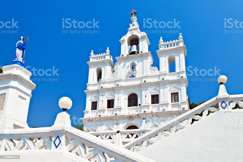 Our Lady of the Immaculate Conception Church stock photo