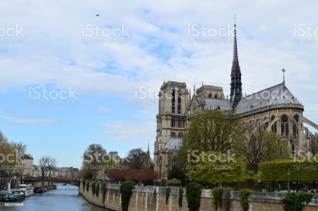 Notre-Dame royalty-free stock photo