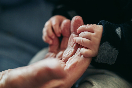 istock Our lives have become a lot more precious together 1011839434