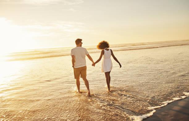 Unsere Liebe ist so schön wie dieser Sonnenuntergang – Foto