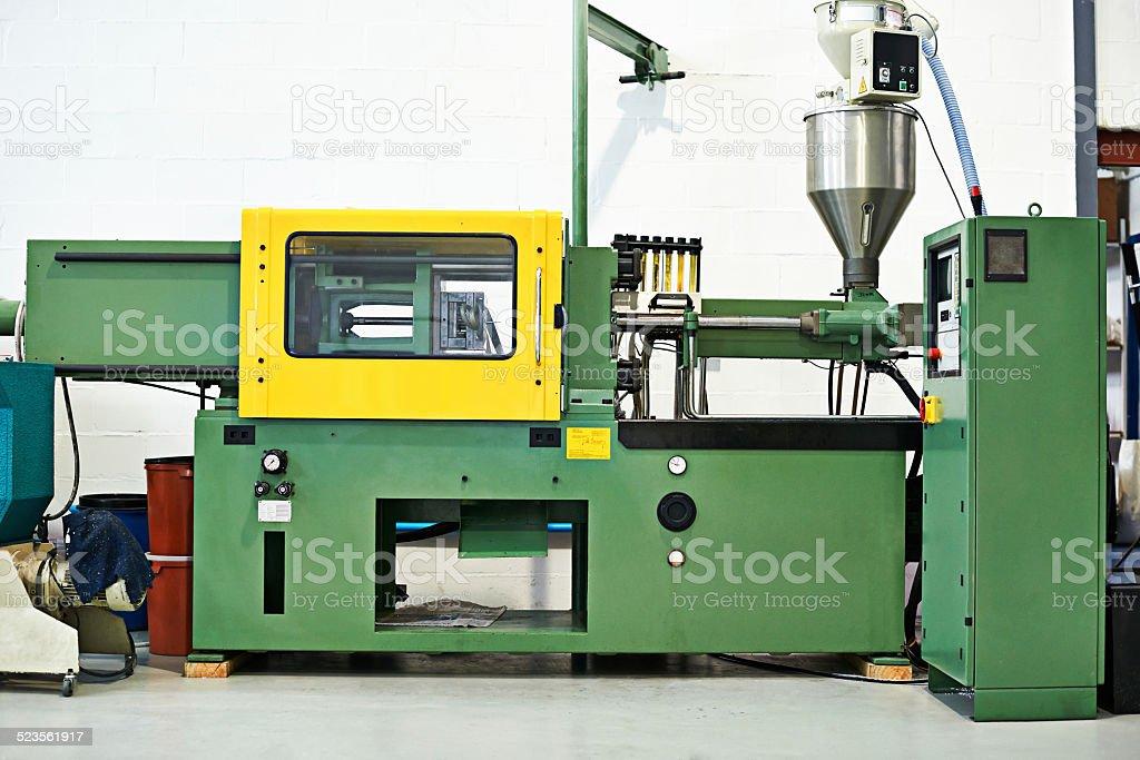 Our machines run like a dream stock photo