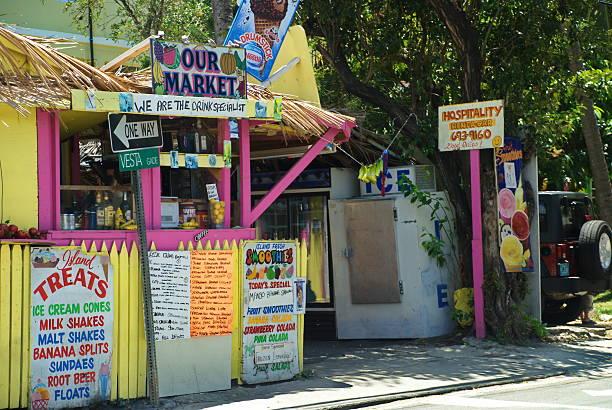Our Market St. John, USVI stock photo