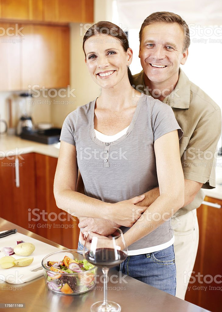 Our marriage is built to last royalty-free stock photo