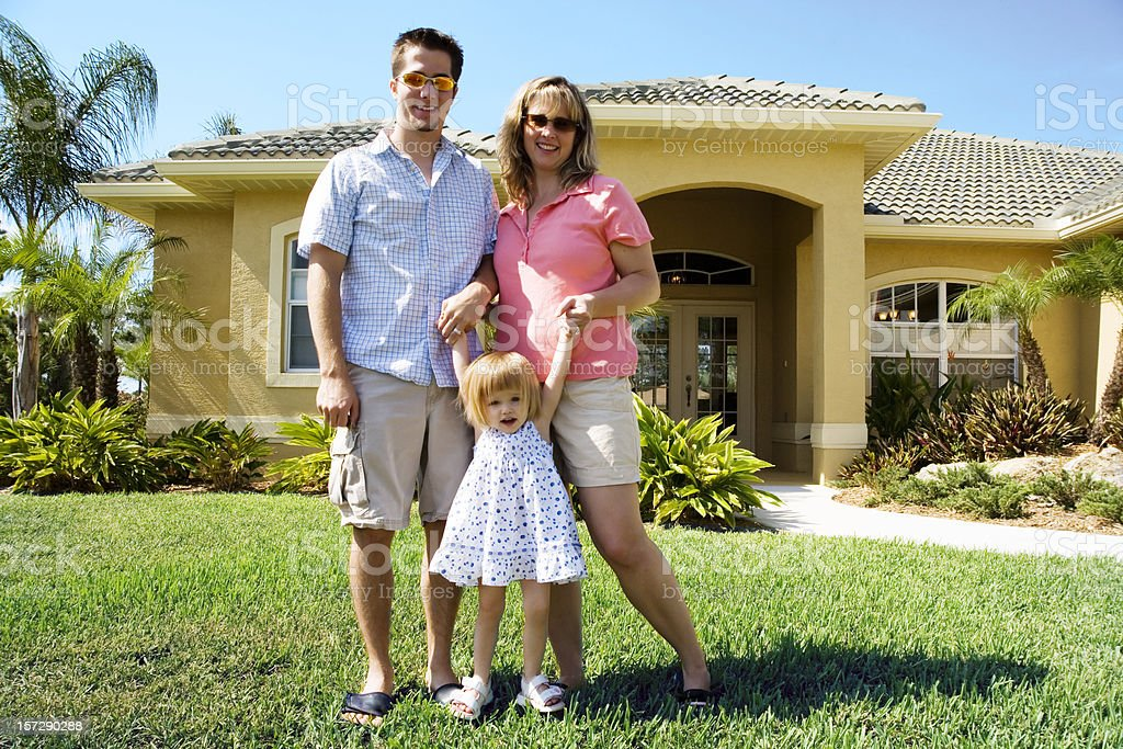 Our New Home royalty-free stock photo