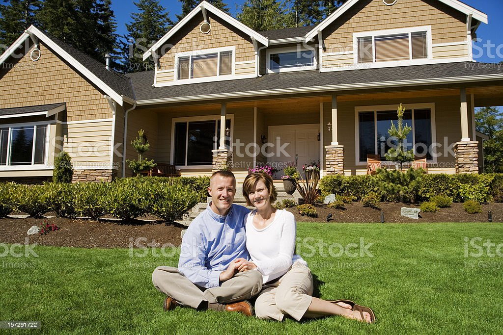 Our new home! royalty-free stock photo
