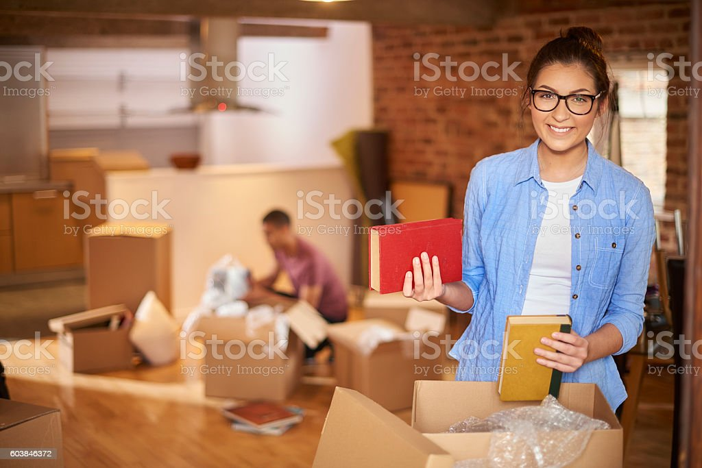 our new loft stock photo