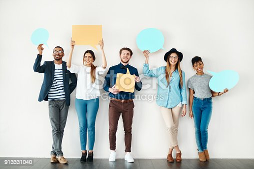 855443864 istock photo Our opinions matter 913331040