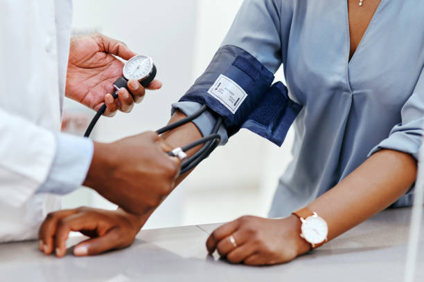 Our pharmacy offers a range of wellness screenings for your convenience stock photo
