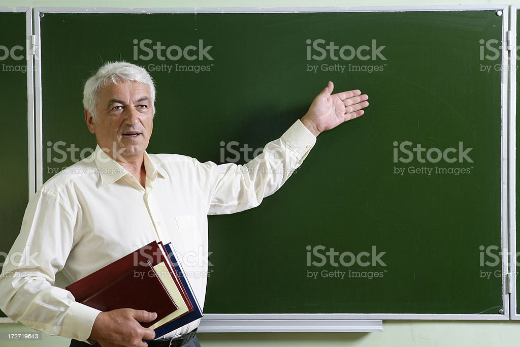 Our Professor royalty-free stock photo