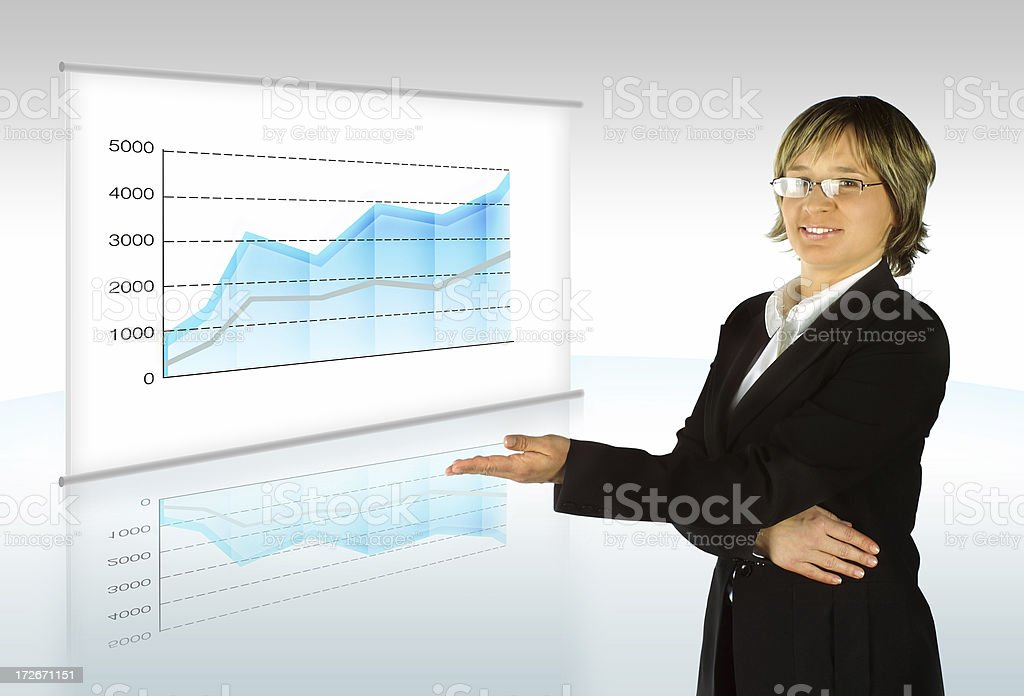 Our Profit royalty-free stock photo