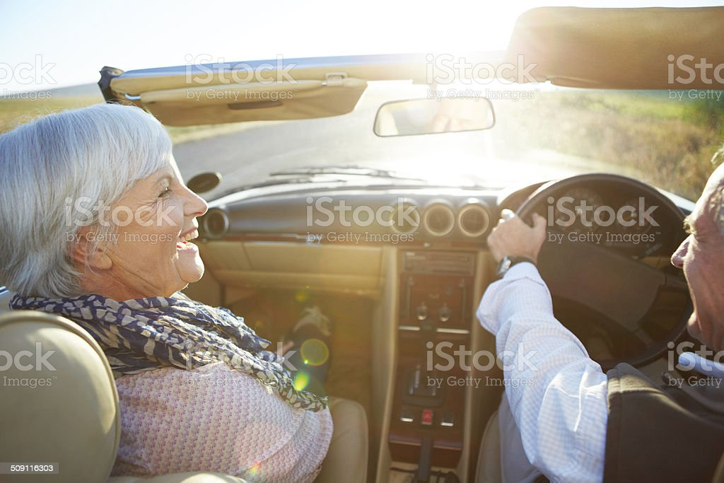 Our time for an adventure royalty-free stock photo