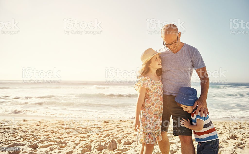 Our time together is the greatest gift stock photo
