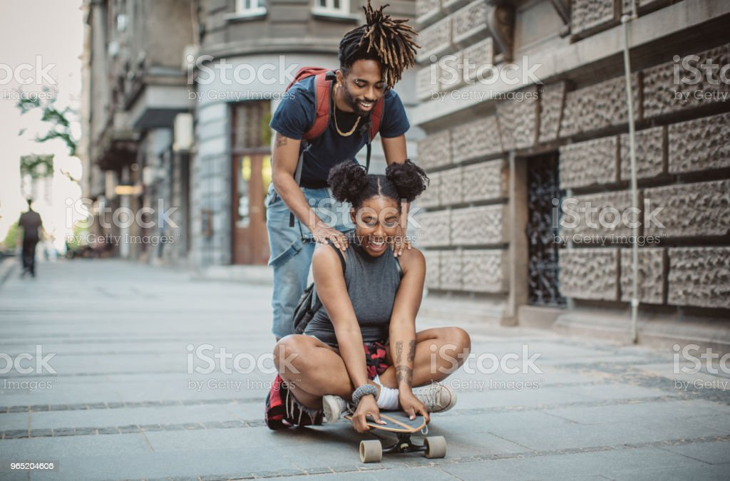 Our way to spend time together royalty-free stock photo