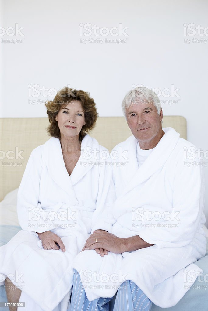 Our well-deserved vacation royalty-free stock photo