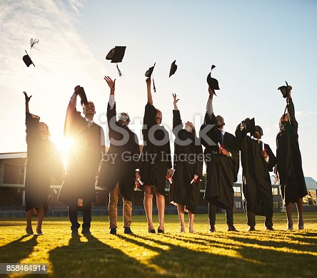 858462408istockphoto Our work here is done 858464914